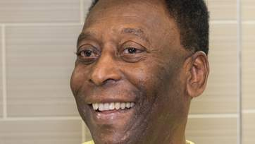 LONDON, UNITED KINGDOM - MARCH 20: Pele attends Subway Restaurant in New Oxford Street on March 20, 2015 in London, England.  (Photo by Nicky J. Sims/Getty Images for adidas)